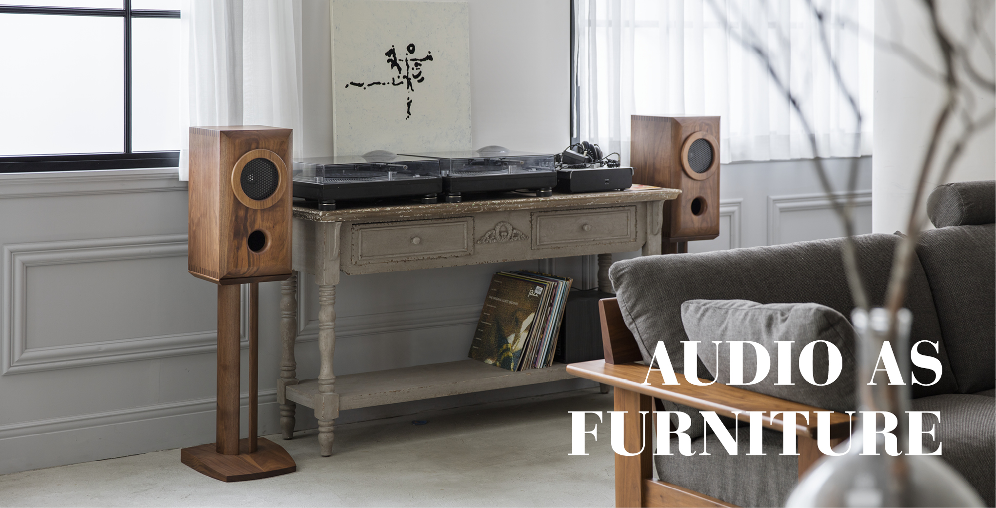 AUDIO AS FURNITURE