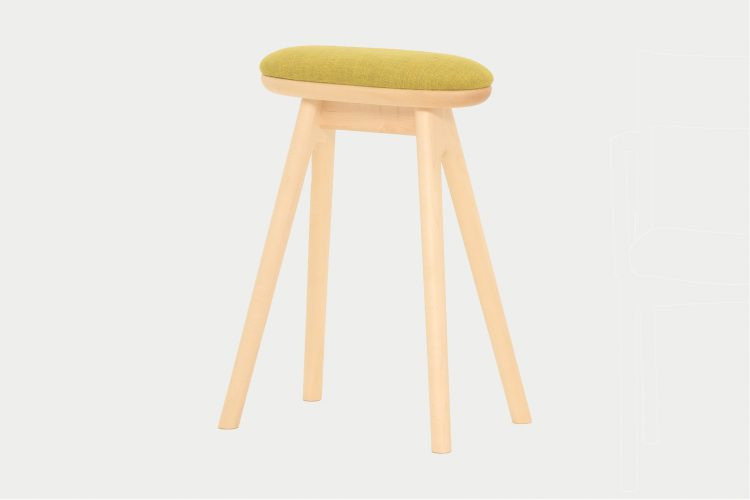 coupé kitchen stool / SC338-1S